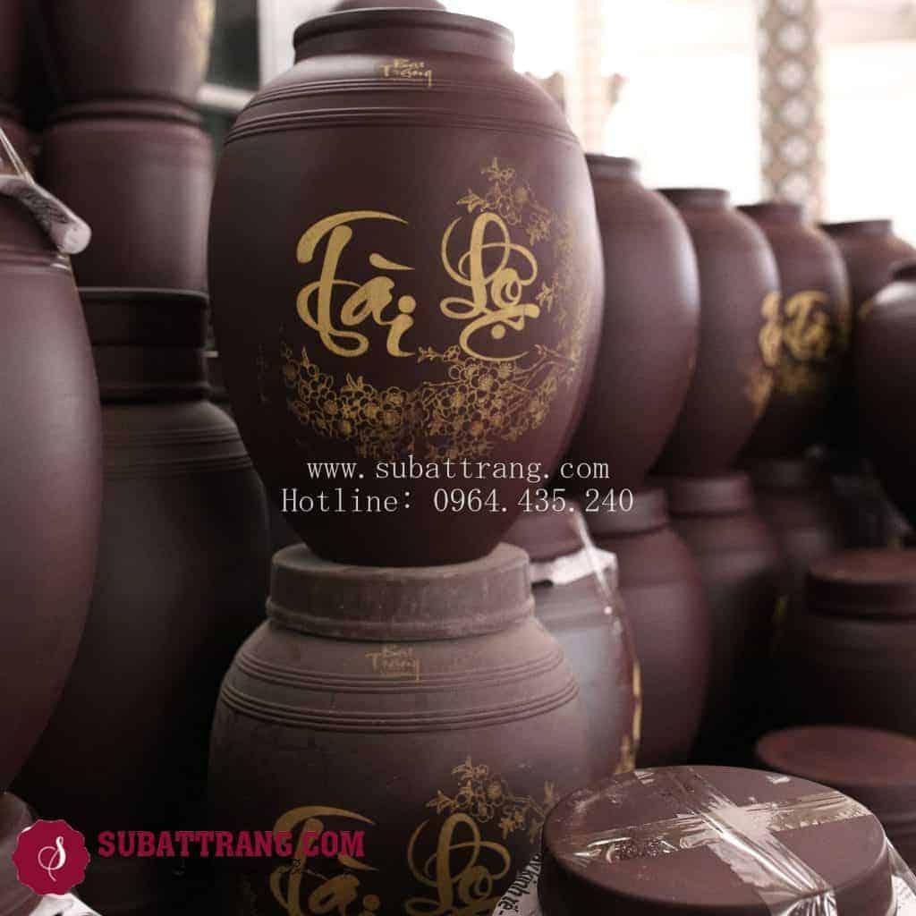Ngâm Rượu Thả Ga, Bảo Hành Trọn Đời Với Chum Rượu Bát Tràng