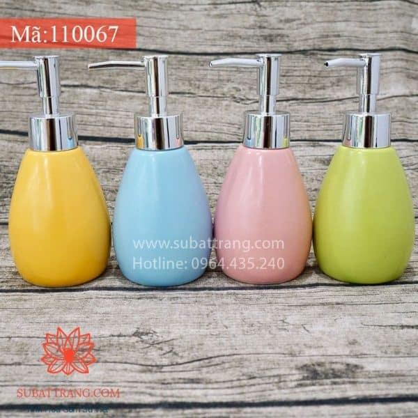 Bộ 4 Bình Sữa Tắm Men Mát - 110067