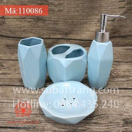 Bộ Bình Sữa Tắm Dáng Kim Cương - 110086