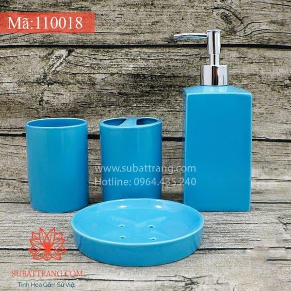 Bộ Bình Sữa Tắm Đầy Đủ Men Xanh - 110018