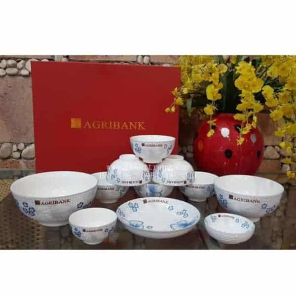 Bộ Đồ Ăn In Logo Quà Tặng Mẫu - 130053