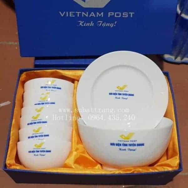 Bộ Đồ Ăn In Logo Quà Tặng Mẫu - 130056