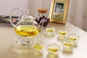 Ấm trà thủy tinh - Phong cách thưởng trà ngon và lạ mắt