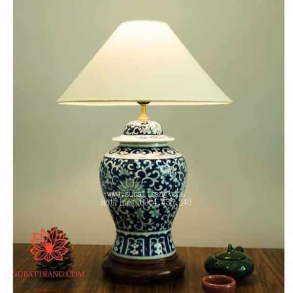 Đèn Chóe Vẽ Băng Dây Cúc Cổ - 150035