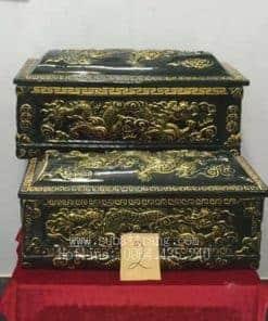 Quách Tiểu Men Đen Nhũ Vàng Rồng Nổi - 190002