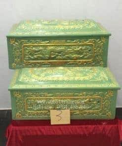 Quách Tiểu Men Xanh Nhũ Vàng Rồng Nổi - 190003
