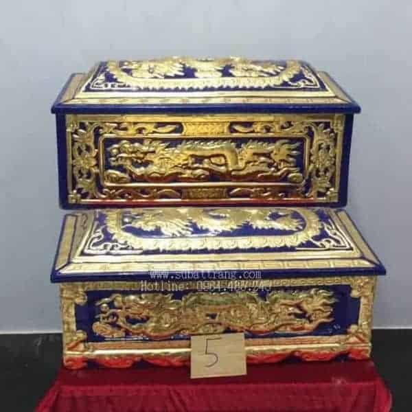 Quách Tiểu Men Xanh Nhũ Vàng Rồng Nổi - 190005