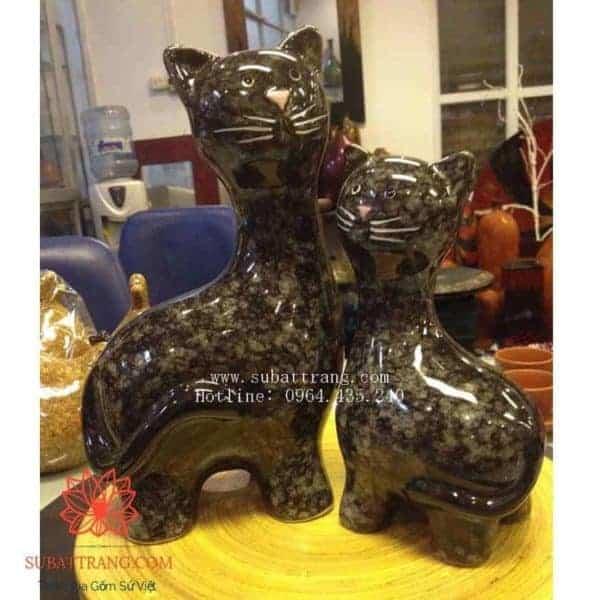 Tượng Con Giống Cú Mèo - 200034