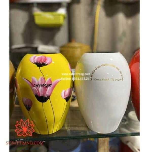 Lọ hoa dáng xoài s1 - 130097