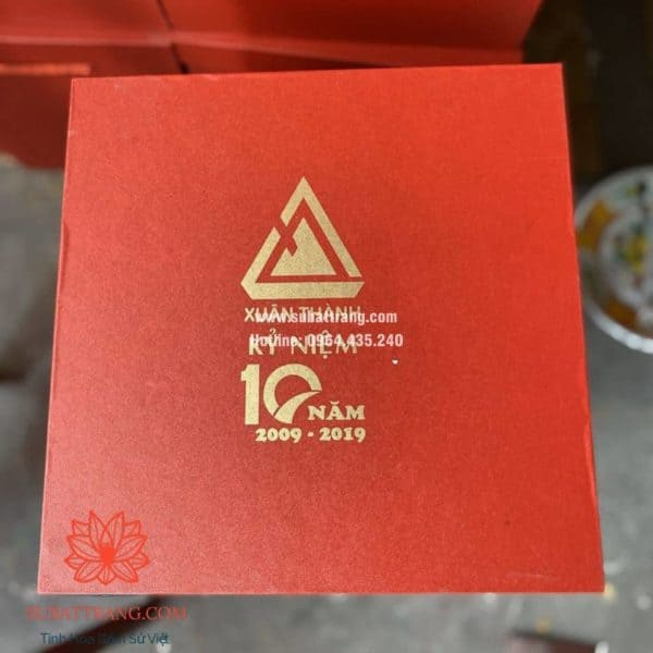 Lọ tài lộc in logo - 130096