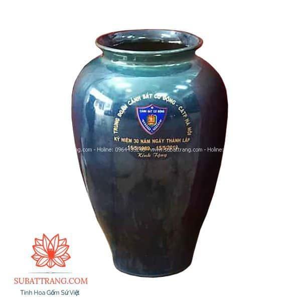 Vò loe cao men hỏa biến in logo - 130107