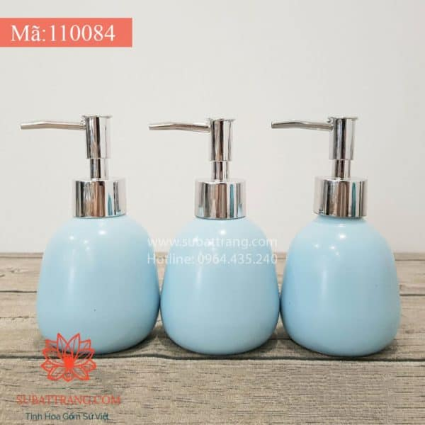Bình Đựng Dầu Gội Sữa Tắm Khách Sạn Xanh - 110084