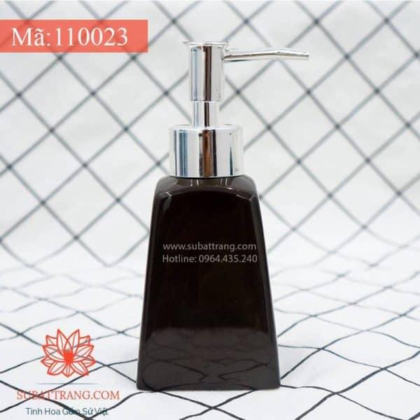 Bình Đựng Dầu Gội Sữa Tắm Thang Nâu Cháy - 110023