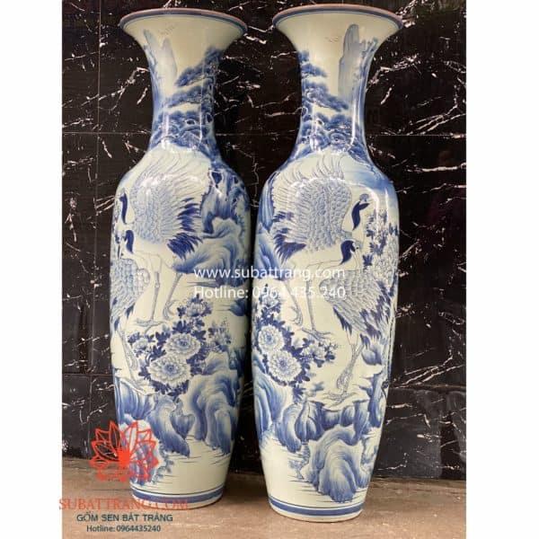 Lộc Bình Song Hạc 1m6 - 70071