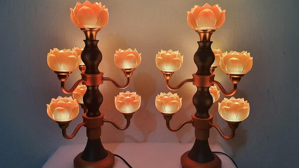 Hãy chọn tông màu ấm và có chút ánh sáng dịu nhẹ.